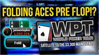 WINNING OUR WAY TO THE WORLD POKER TOUR!? | PokerStaples Stream Highlights