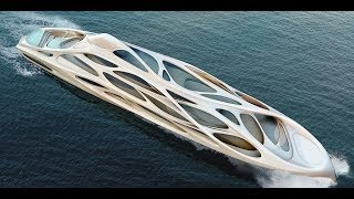 NEW AMAZING EXOSKELETON GIGA YACHTS - SUPER YACHTS - LUXURY YACHT SUPER YATES