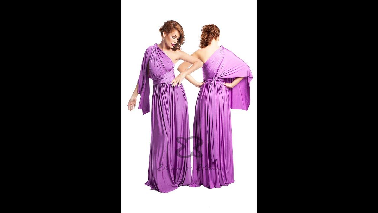 Eliza & Ethan Multi-Wrap Dress Tutorial - Style 15 - YouTube