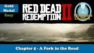 A Fork in the Road - Gold Medal Guide - Red Dead Redemption 2