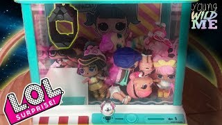 LOL Surprise Claw Machine Challenge! Gold Ball Ultra Rare Wave 2 Confetti Pop Doll Blind Bags Toys
