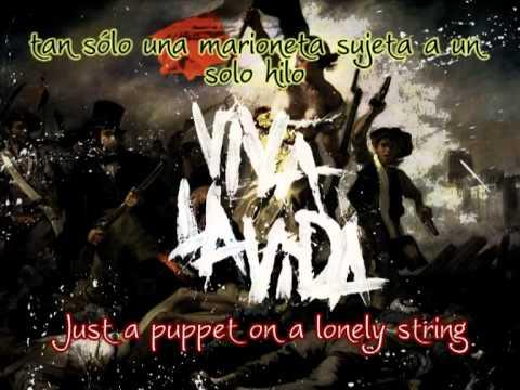 Viva La Vida - Coldplay  (English Lyrics/Spanish Translation)