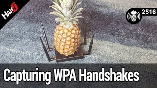 Capturing WPA Handshakes with the WiFi Pineapple - Hak5 2516