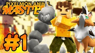 Pixelmon Anime MASTERS ★ BROCK'S MOUNTAIN CHALLENGE! (Minecraft Pixelmon Roleplay Episode 1)