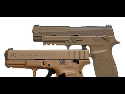 Glock vs Sig: Army's MHS Pistol Program Blows Up In Their Face