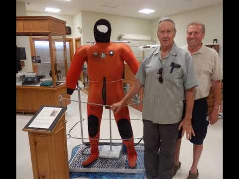 Collingwood Shipyards Diver Sonny Potts on diving in Collingwood's habour