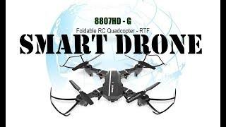 Levný SMART DRONE s HD kamerkou│Aliexpress česky│Unboxing - TEST - návod - recenze CZ - chytrý dron