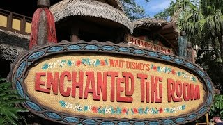 360º Ride on Walt Disney's Enchanted Tiki Room at Magic Kingdom