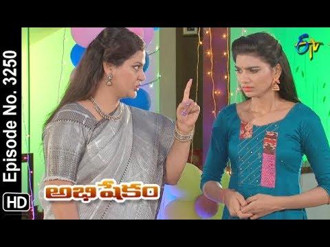 Abhishekam   15th June 2019   Full Episode No 3250   ETV Telugu