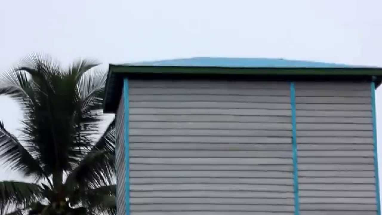 Contoh Rumah Burung Walet Mandiri Kayu Dinding Susun Sirih 4