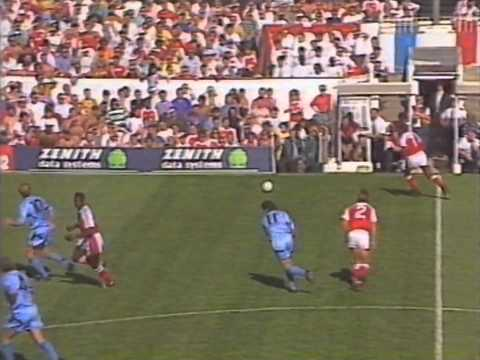 [91/92] Arsenal V Manchester City, Aug 31st 1991