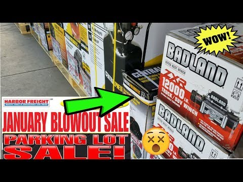 JANUARY BLOW OUT SALE| |Harbor Freight