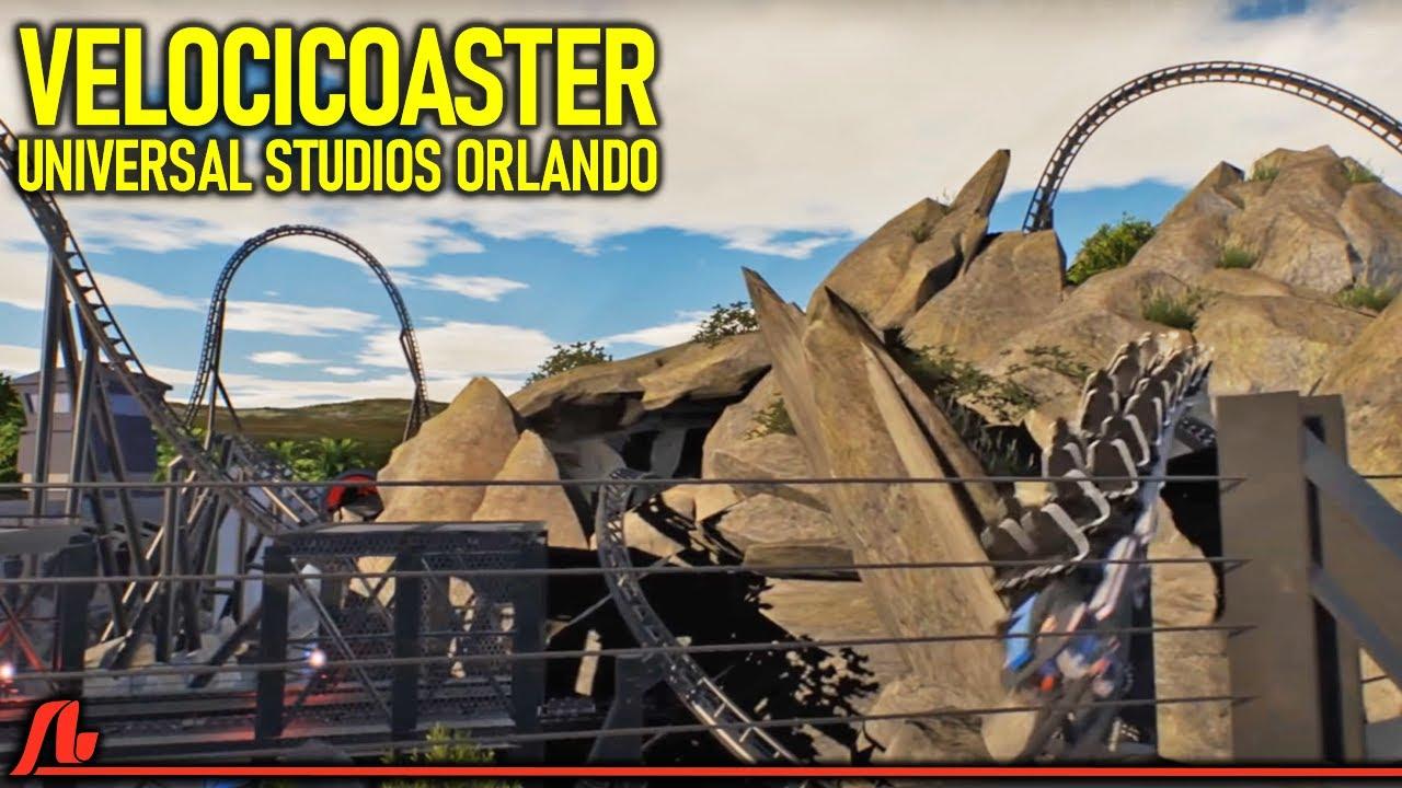 Velocicoaster Pov New 2021 Roller Coaster Universal S Islands Of Adventure Youtube