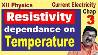 3.12 || Resistivity dependance on temperature || Resistivity || Hindi || arvind academy ||