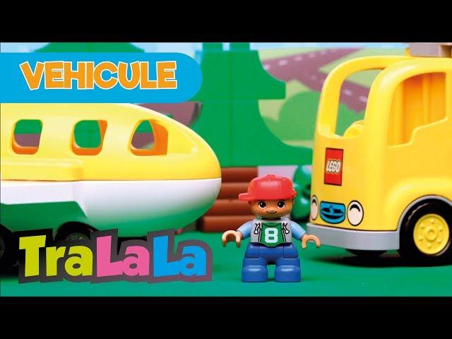 Să învățăm despre vehicule - Teatrul Pătrățică - LEGO DUPLO   TraLaLa