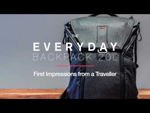 Peak Design Everyday Backpack 20L First Impressions From a Traveller