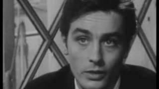 Interview Alain Delon tournage Mélodie en sous Sol 1963