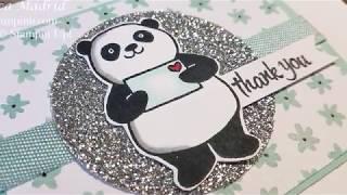 Thank You Panda Card