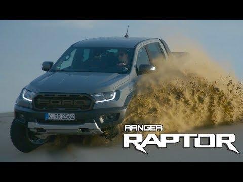 2019 Ford Ranger Raptor Off-Road Test Drive