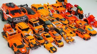 Orange Color Transformers Carbot Tobot 30 Vehicle bicycle Transform Robot Car Toys