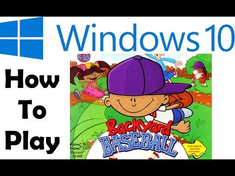 How To: Play Backyard Baseball on Windows 10!