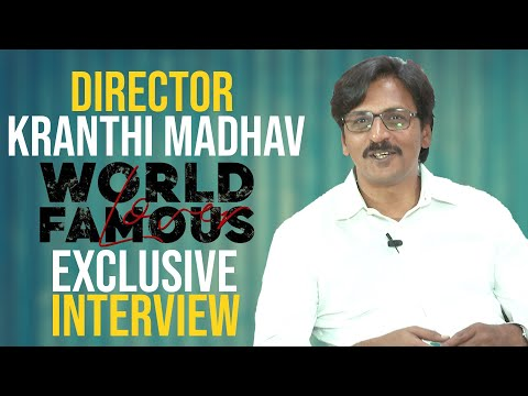World Famous Lover Movie Director Kranthi Madhav Exclusive Interview | TFPC Exclusives