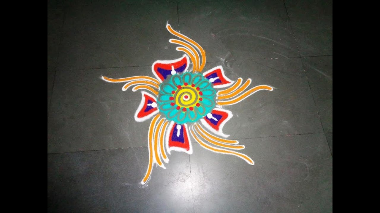 New Fancy Rangoli Designs