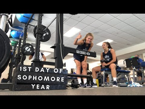 A DAY IN THE LIFE OF A D1 COLLEGE ATHLETE | BYU