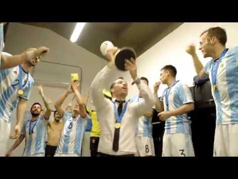 ARGENTINA DRESSING ROOM! EXCLUSIVE FOOTAGE!