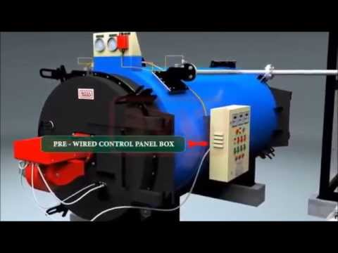 Oil & Gas Fired Thermal Oil Heaters