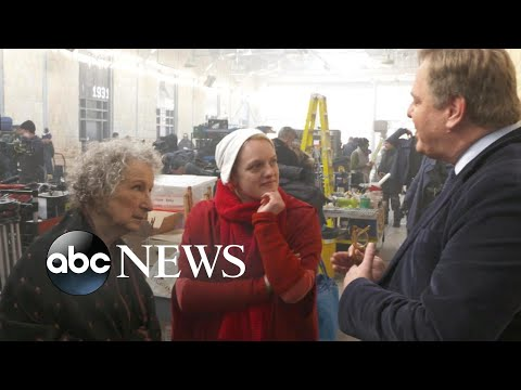 Behind the scenes of 'The Handmaid's Tale' season 2 with cast, author Margaret Atwood