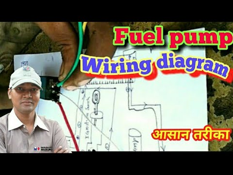 Fuel    pump    wiring       diagram           All process  YouTube