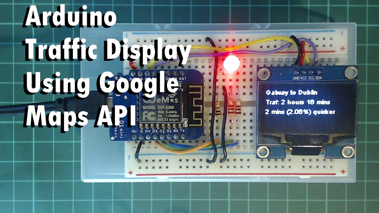 Arduino Traffic Display Using Google Maps API: 5 Steps on intel mcs-48, arduino connections, processing map, ios map, sql map, pic microcontroller, make map, code map, oracle map, ti msp430, gadgets map, microsoft map, mobile map, atmel arm-based processors, wifi map, intel mcs-51, power map, linux map, cisco map,