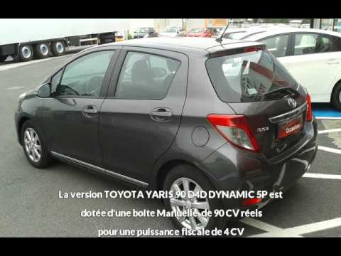 offre de toyota yaris toyota yaris 90 d4d dynamic 5p de 2014 en vente castres youtube. Black Bedroom Furniture Sets. Home Design Ideas