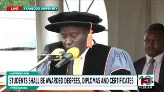 NBS Happening now :Kyambogo University Graduation 13th dec 2018