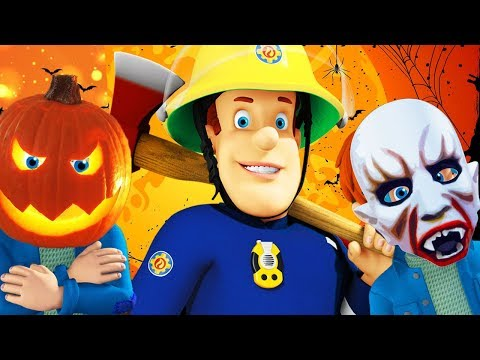 Download Youtube: Fireman Sam New Episodes | Norman's Trick or Treat Night 🎃 1 Hour Halloween | Cartoons for Children