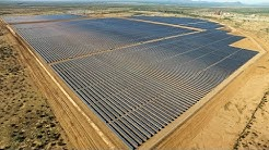 Drone - Red Rock Solar Plant Construction Video