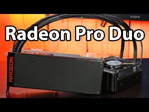 The AMD Radeon Pro Duo Review