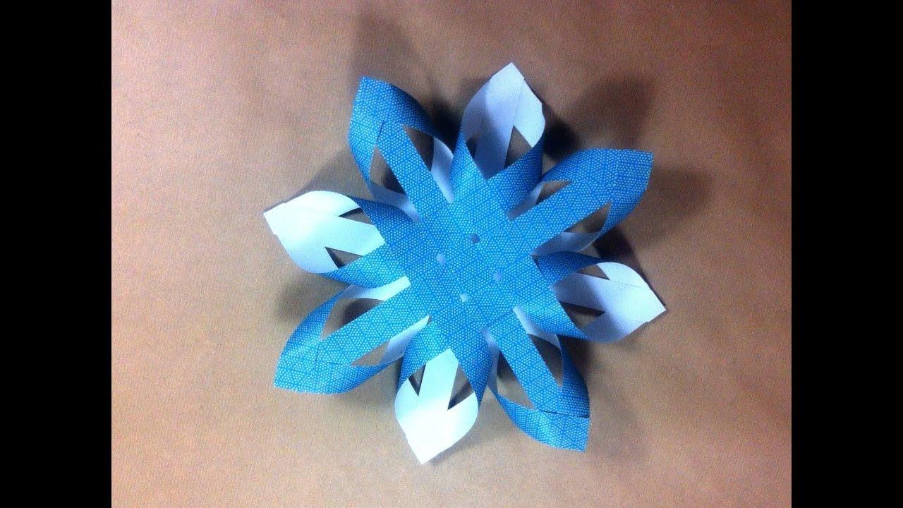 C mo hacer una estrella de navidad finlandesa de papel - Estrellas de papel ...