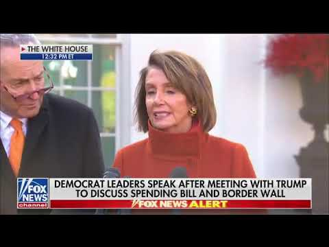 PC Nancy Pelosi corrects herself after saying 'Christmas': 'Holiday present'