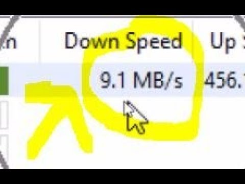 how to boost utorrent download speed