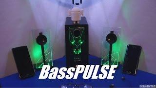 BassPULSE: Speakers with Glow Lights