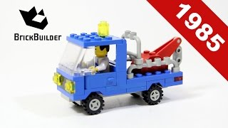 Lego - Back To History - 6656 Tow Truck - 1985 - BrickBuilder