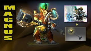 Dota 2 Plus Magnus Best Mix Set with Immortal (Ornate Cruelty - Shock of the Anvil)