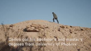 Access to Education - Alumnus Carlos Ramirez - University of Phoenix