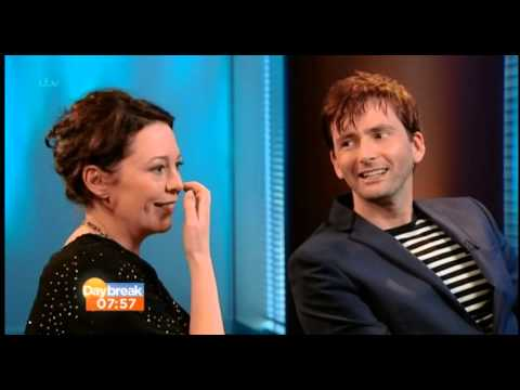 David Tennant & Olivia Colman Talk To Daybreak About Broadchurch
