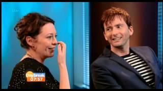 David Tennant & Olivia Colman Talk To Daybreak About Broadchurch
