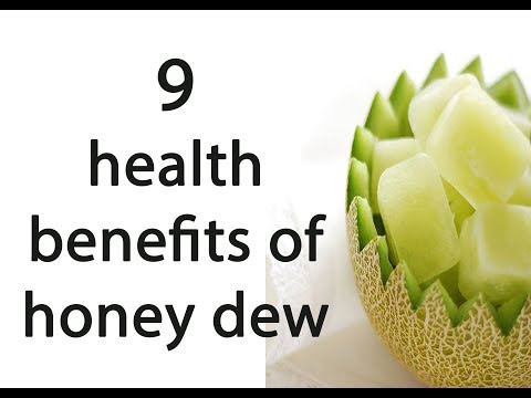 9 health benefits of honey dew || fiber in honeydew || honeydew sorbet
