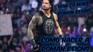 WWE 2K15 | COMO HACER A ROMAN REIGNS EN PS3// HOW TO MAKE ROMAN REIGNS ON PS3