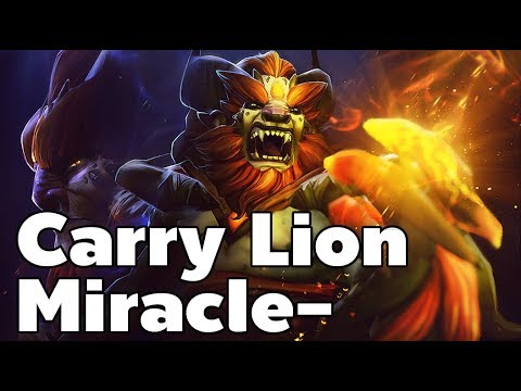 Carry Lion By Miracle-